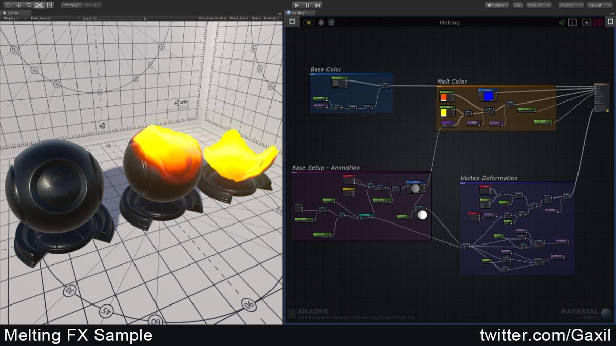Unity节点材质编辑器插件Amplify Shader Editor 1.7.0