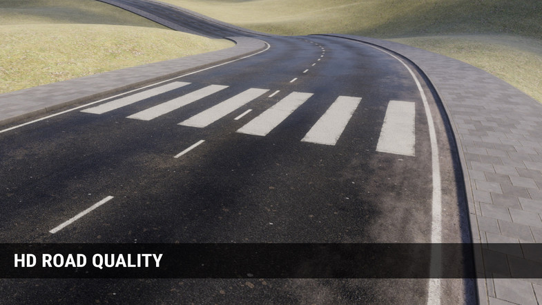 EasyRoad3D Pro Add On HD Roads - Unity道路创建插件