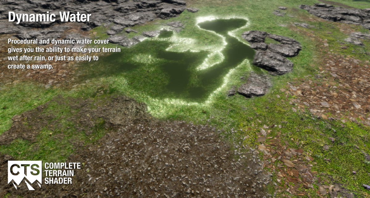 Unity完整地形着色器CTS 2019 – Complete Terrain Shader v2019.1.6