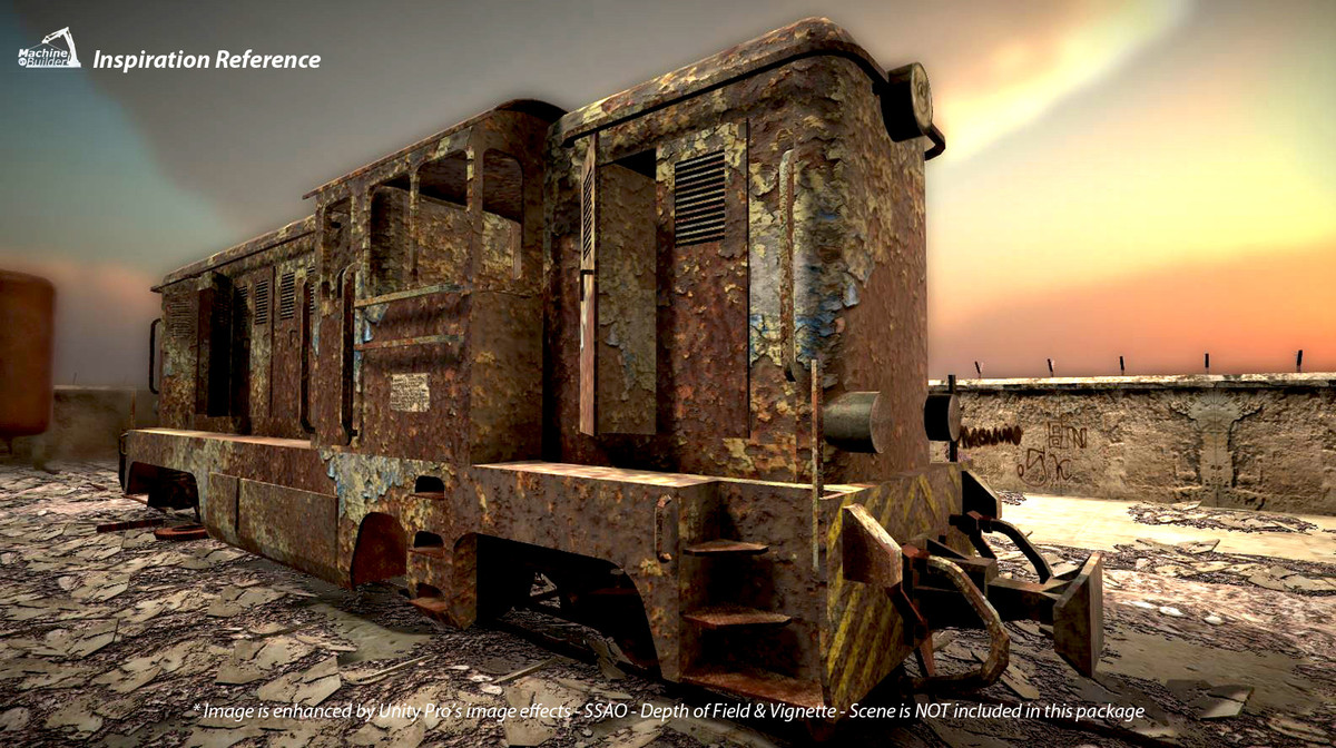 197c22d5 fad2 4a1e 8d3d 35bd7923f5a6 scaled - Abandoned Vehicles v1.0 - Unity废弃工业车辆模型