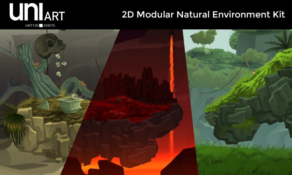 1bff6394 17f9 4898 b518 58f8bf27d949 scaled - Unity模块化自然环境 - UniArt 2D Modular Natural Environment Kit