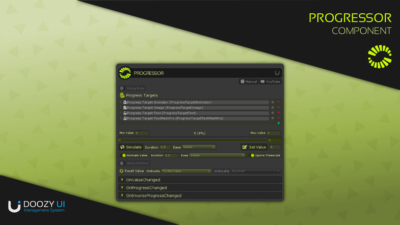 Unity完整的UI管理系统DoozyUI: Complete UI Management System v3.1.0更新