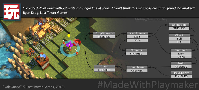 24e72dcd 1a9a 4e62 aa15 3066668c5c0a scaled - Playmaker v1.9.0p15 - Unity游戏可视化编程项目