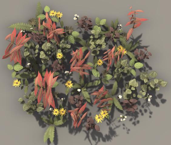 4b3529a5 9f77 4357 9e57 e07af1611632 scaled - PBR Plant Pack Volume 2 v4.0 - Unity PBR植物3D包