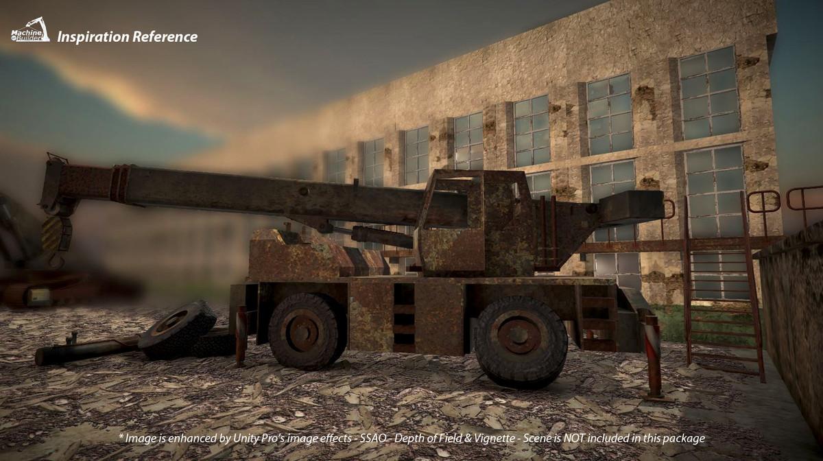 4d7f074a 1a54 4128 ae2b 3058748acd9e scaled - Abandoned Vehicles v1.0 - Unity废弃工业车辆模型