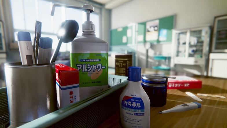 51d3d033 9632 4091 9303 17e35dd0ee53 scaled - Unity学校医务室3D模型 - Japanese School Infirmary v2.0
