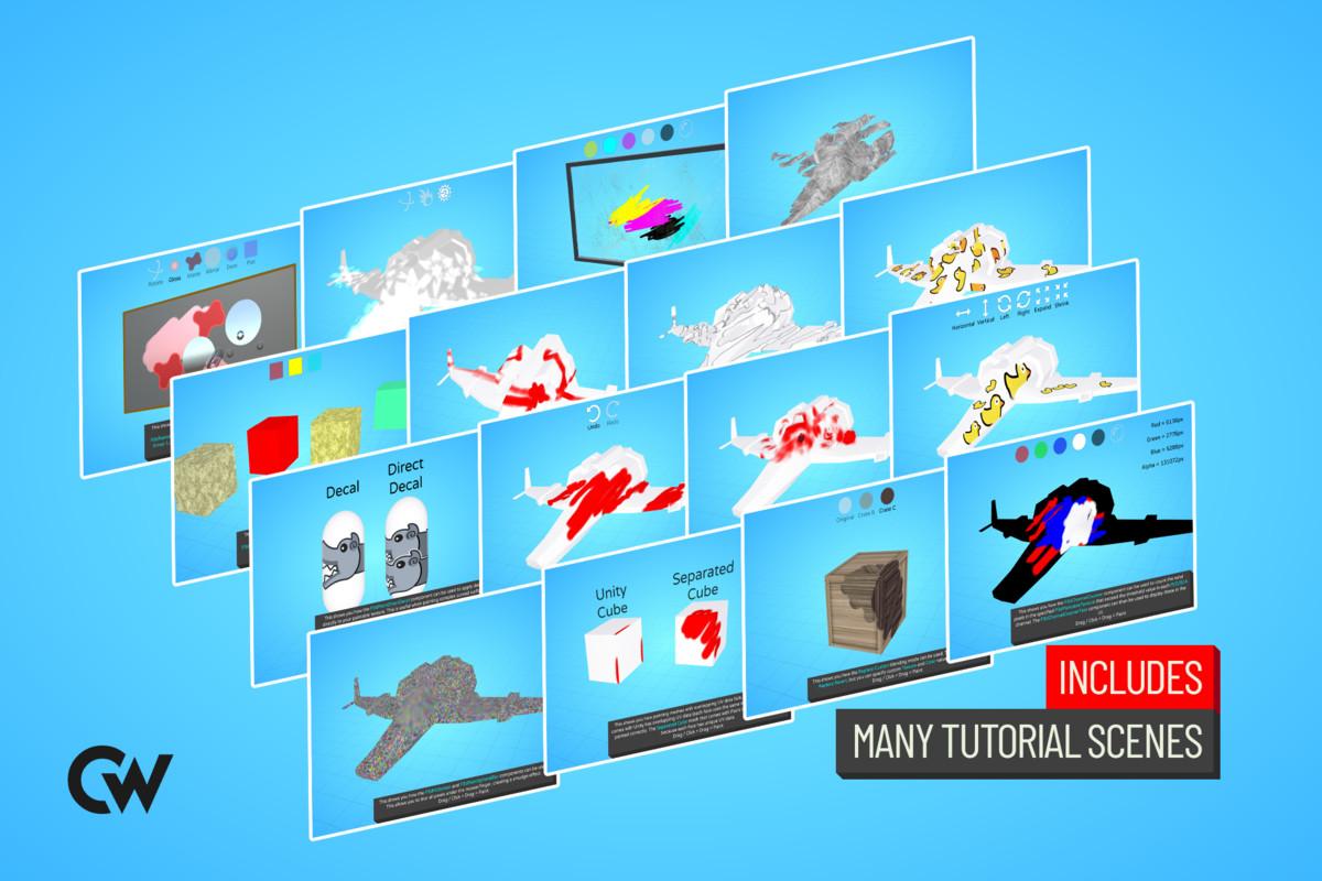 554fb8c8 3947 4d73 94e7 8895e4aebeae scaled - Unity3D游戏和编辑器绘画插件Paint in 3D 1.9.0