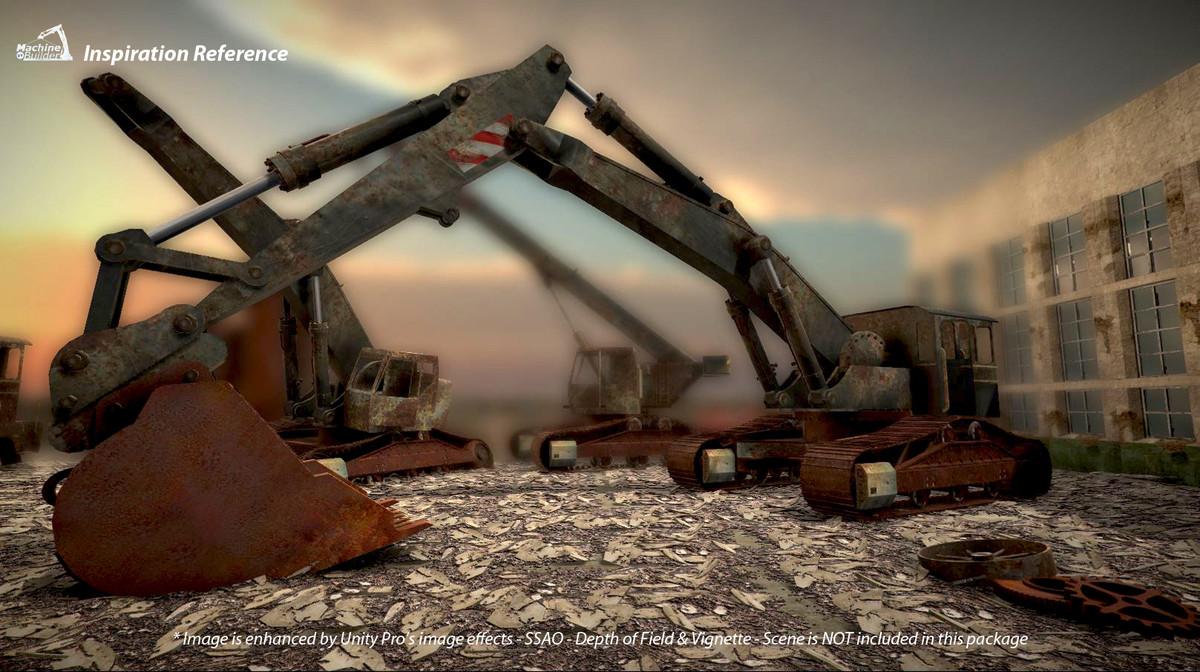 57d895e3 0df1 423a 8f55 db420f97fa61 scaled - Abandoned Vehicles v1.0 - Unity废弃工业车辆模型