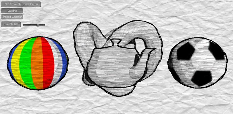 5f0c7a64 1910 4034 8481 d2dcc4e8a175 scaled - Unity NPR Sketch Effect v1.4 - NPR草图铅笔素描效果包