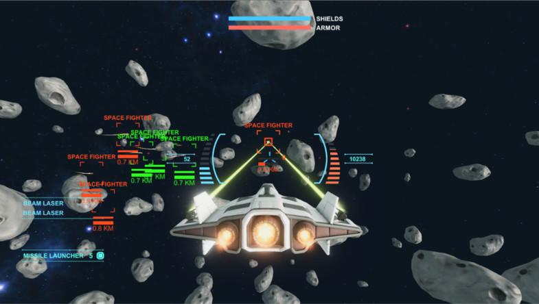 Unity太空游戏作战套件 Space Combat Kit v1.21