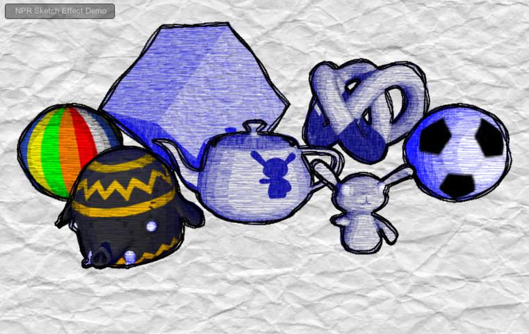 616725cf ea18 4b30 9679 02a7f4bdfa27 scaled - Unity NPR Sketch Effect v1.4 - NPR草图铅笔素描效果包