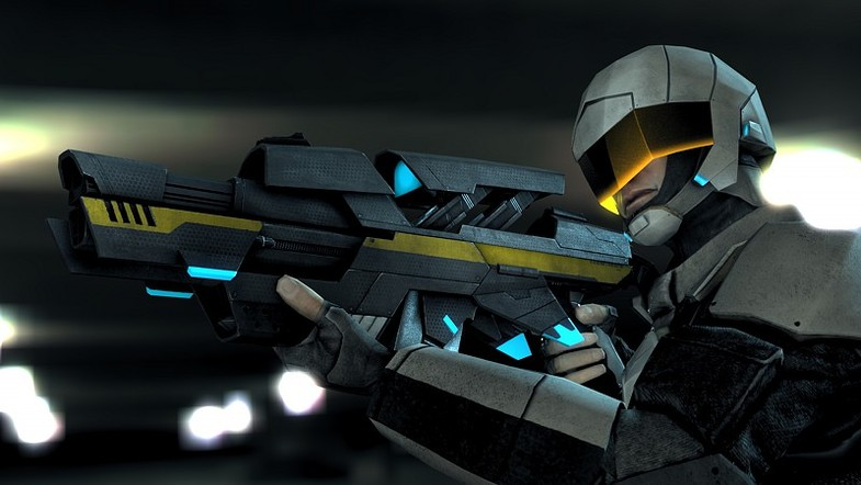 62be481b 5699 49d5 a8ed 8eb83e5faf2e scaled - Futuristic Soldier 2 - Unity未来士兵动画手榴弹武器资源