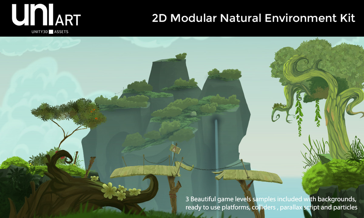67873d2a 8a75 4617 8f0d 28085f4ec7f0 scaled - Unity模块化自然环境 - UniArt 2D Modular Natural Environment Kit