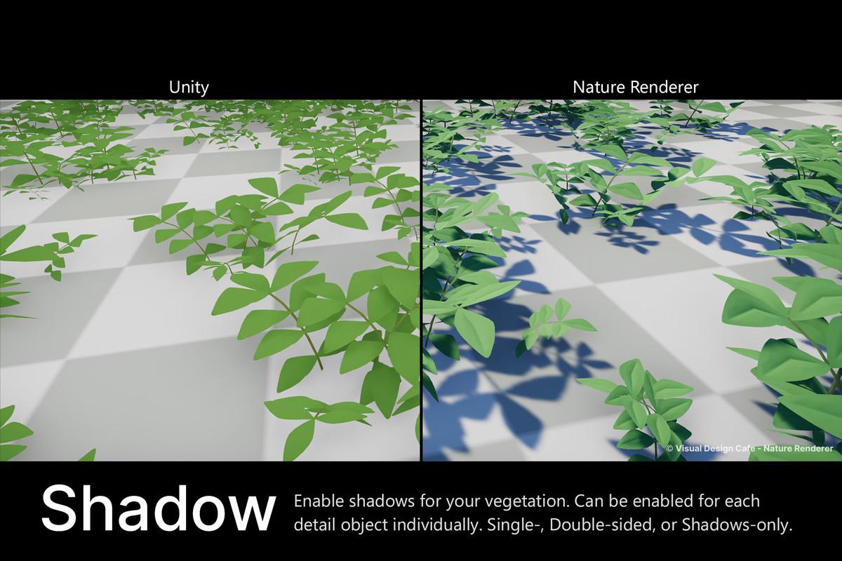 6ed51596 f02f 4f41 a24f 55ed6104744e scaled - Nature Renderer 1.3.9 - Unity3D地形植物模型细节渲染插件
