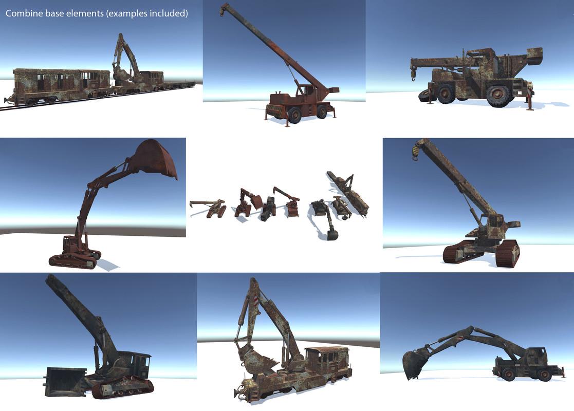 70a64269 c951 4b06 acf0 0295bfcd443d scaled - Abandoned Vehicles v1.0 - Unity废弃工业车辆模型