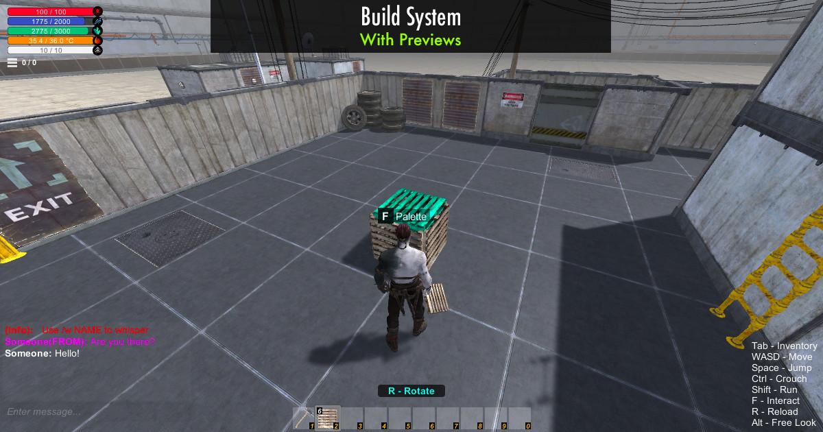 72cc2934 d8fd 4146 8bb6 3bbce2a1bd20 scaled - uSurvival v1.67v - Unity uMMORPG多人生存游戏源码
