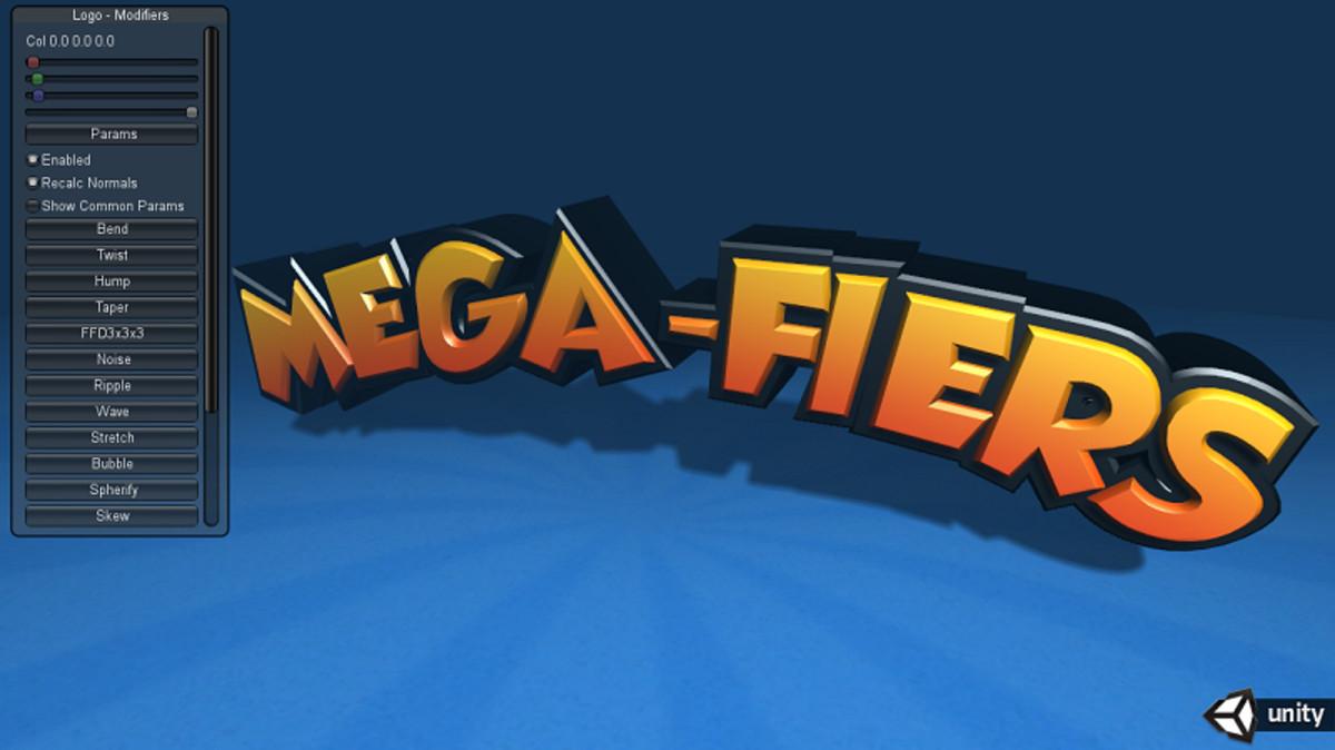 79dde233 2094 4543 9494 a26ae1504ac1 scaled - Unity3D网格变形动画和修改器插件Mega Fiers 3.48