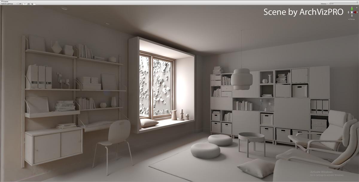 Bakery GPU Lightmapper - UnityGPU光照贴图烘焙插件