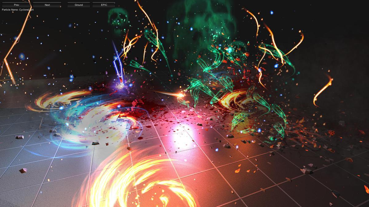 84b0a1f1 a032 4b63 8a0a dfb12a1784d2 scaled - Extreme FX Vol1 v2.1 - unity幻想3D动作特效