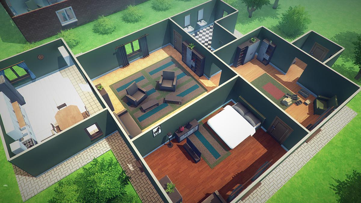 91adba97 b58c 4f3f bf3f 1655c0be78b0 scaled - Unity Mobile Interiors v1.0 - 280个建筑内饰模型