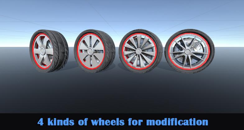 93803e74 ad0b 419f 8928 327af0d9929c scaled - High quality Sports Car v1.2 - Unity跑车模型