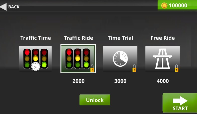 Traffic Ride Template For unity