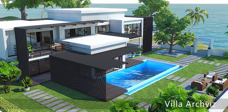 a63ca8f0 b5e4 493a 967a 22280cffef93 scaled - Villa Archviz v1.1 - Unity别墅3D模型