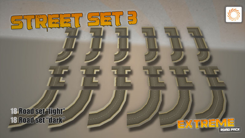 a878c8b0 f26b 4fc1 9551 09e4e4b53dc8 scaled - Unity3D极限道路模型包Extreme Road Pack 1.1