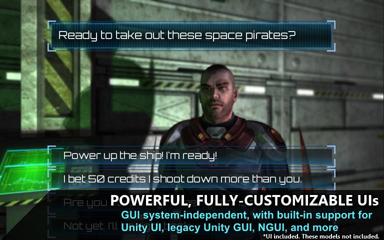 Unity对话系统Dialogue System for Unity v2.2.16