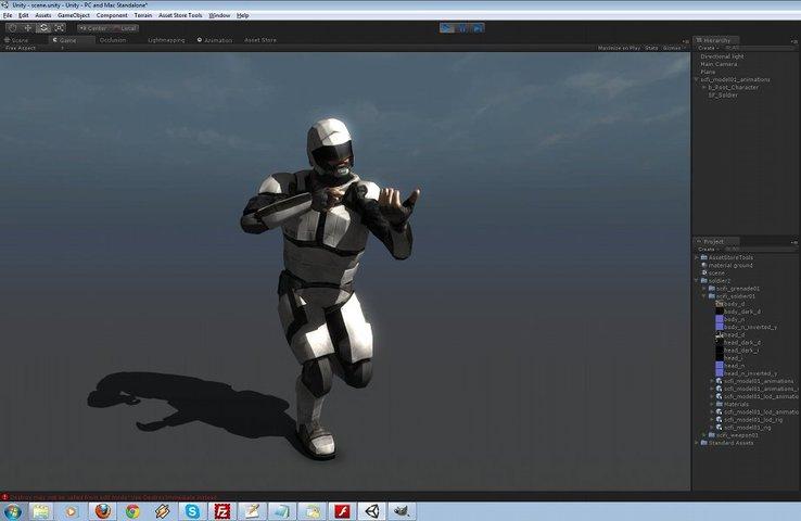 b2853387 0c76 4417 8af8 547067fb3f25 scaled - Futuristic Soldier 2 - Unity未来士兵动画手榴弹武器资源
