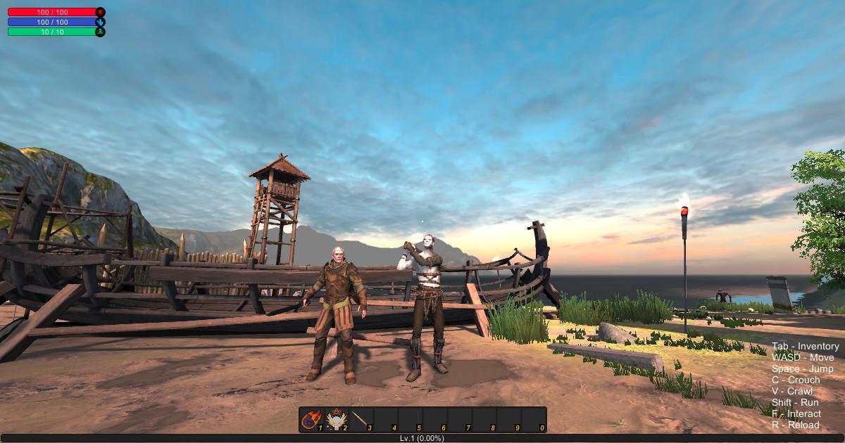 uRPG Singleplayer RPG