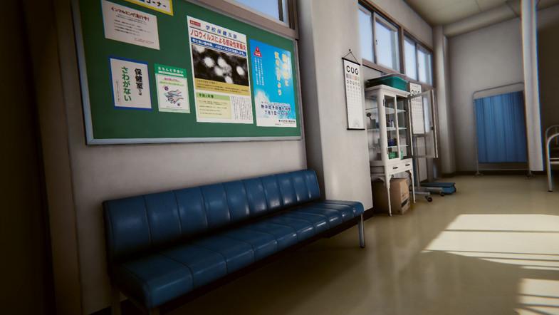bc4f486e fac4 4aef bb1c 6b02106a32b4 scaled - Unity学校医务室3D模型 - Japanese School Infirmary v2.0