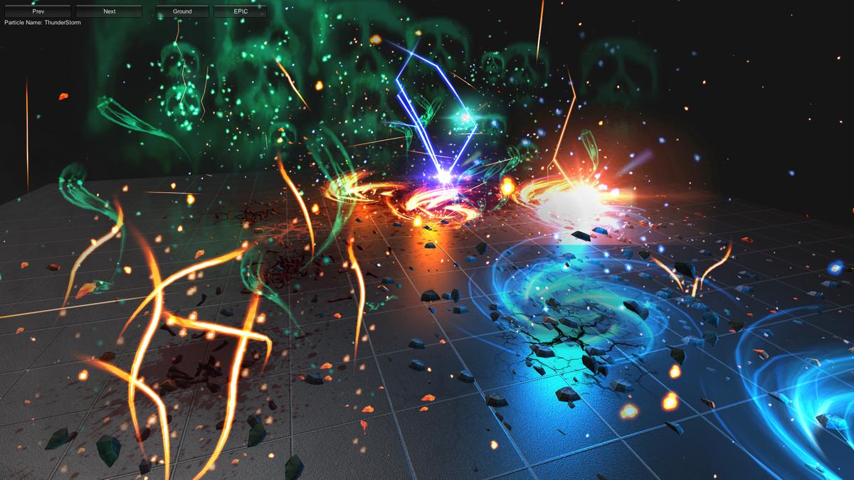 c535b1c7 7acd 4806 bbb7 8971e8e6274e scaled - Extreme FX Vol1 v2.1 - unity幻想3D动作特效