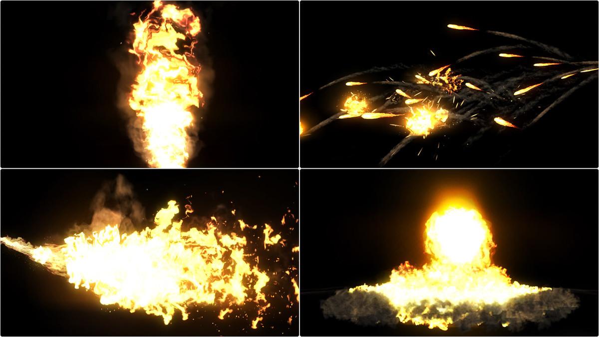 d02dc0ef 4e43 4c08 8eb1 6cc49cd78d35 scaled - Explosive Realistic VFX Texture Pack v1 - unity爆炸火焰纹理包