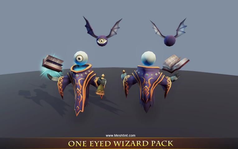 Unity黑暗生物资源包 - Dark Creatures Pack