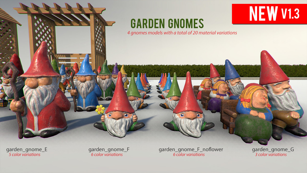 d2cd4b9a d685 4462 a513 cea00206c856 scaled - Unity3D树篱泳池设备花园装饰模型:Garden Decorations v1.3