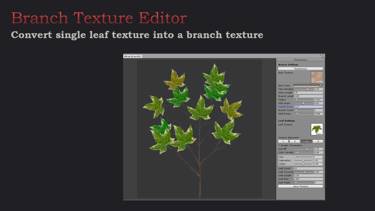 ea98e193 8059 4972 913b bfc8d067f188 scaled - Unity3D树植物库创建插件Mtree - Tree Creation 2.3f0.3