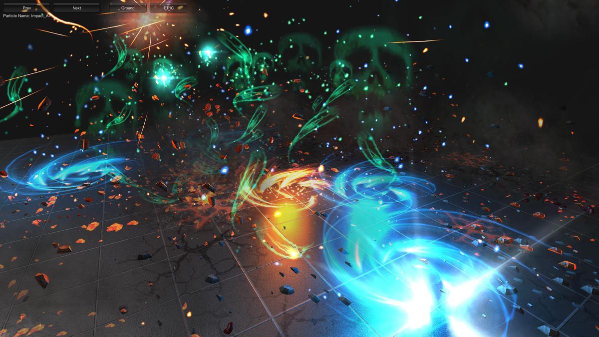 ec942422 d094 417e 8056 12bbe0f73fc1 scaled - Extreme FX Vol1 v2.1 - unity幻想3D动作特效
