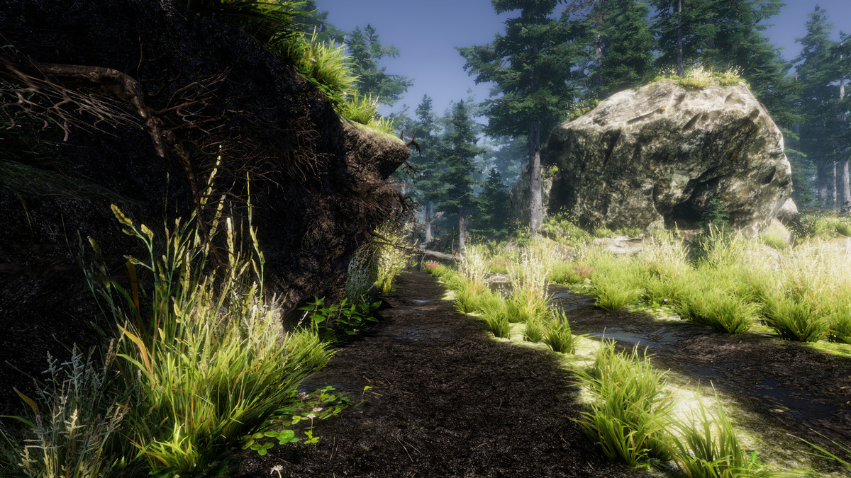 f0546309 cdf7 4a25 b282 8a5fd65b2a97 scaled - Mountain Trees Dynamic Nature 2.3 - Unity3D山树木植物模型