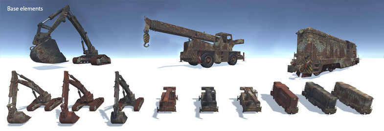 f1634d5e d728 4f9d 9acf 96785b92d27c scaled - Abandoned Vehicles v1.0 - Unity废弃工业车辆模型