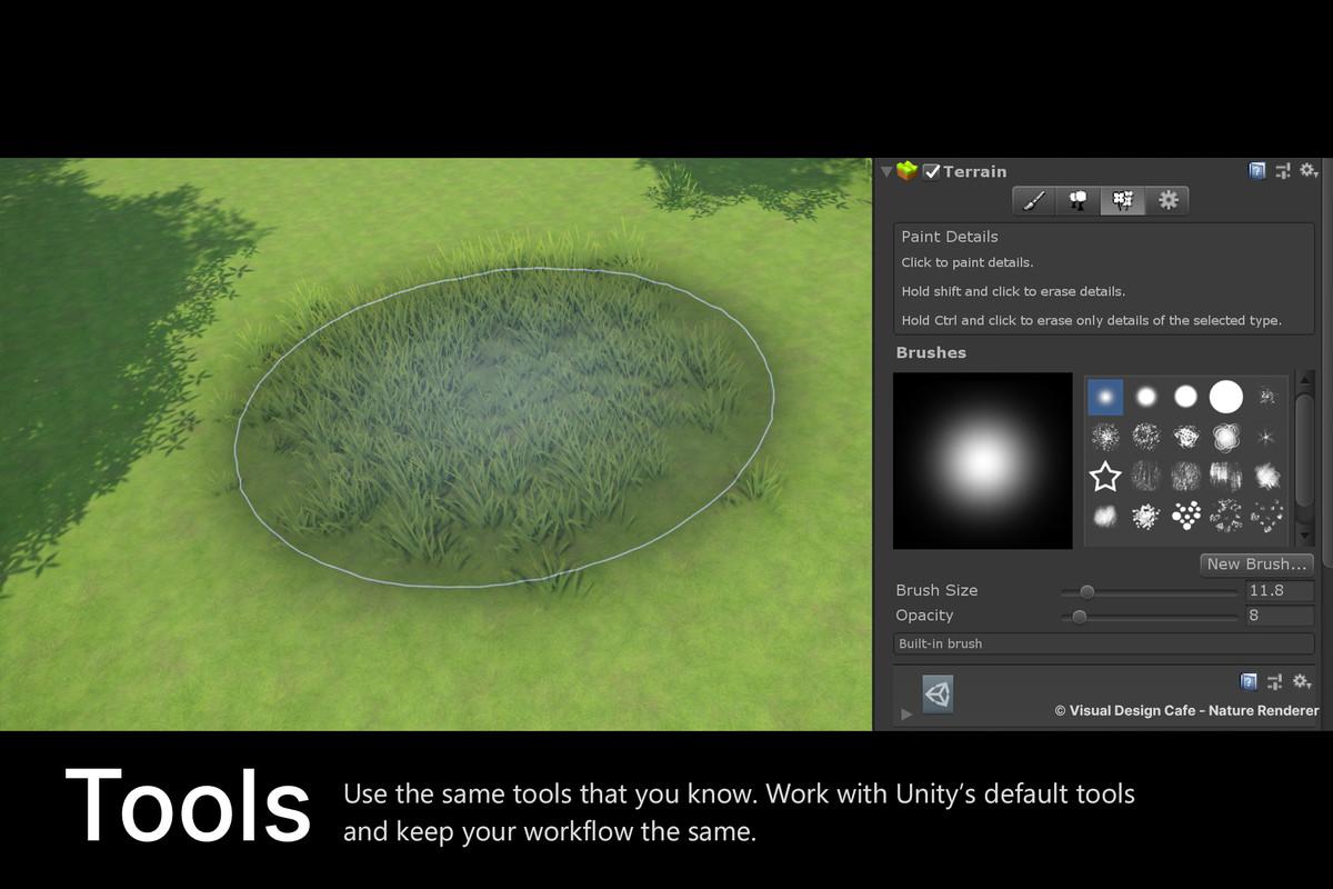 f5e1ffc0 9e90 49b9 9e0c 1f9d859ef492 scaled - Nature Renderer 1.3.9 - Unity3D地形植物模型细节渲染插件