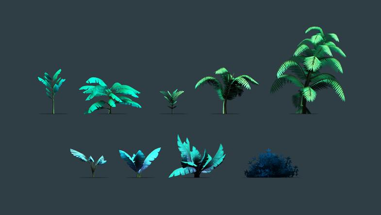 f6fa628e bbae 47f3 87cc ba75f1a487d6 scaled - Unity3D高品质的丛林游戏开发包Stylized Jungle Pack