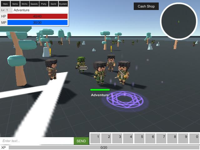 fd9a9d41 afdf 4885 ba0a b15dd26dbb6a scaled - Unity MMORPG KIT 2D 3D Survival v1.47d - 游戏开发源码